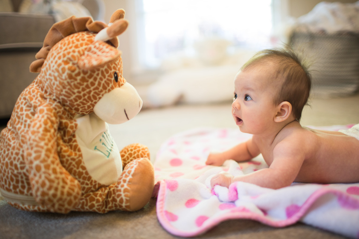 Tummy Time and Developing Neck and Upper Body Strength