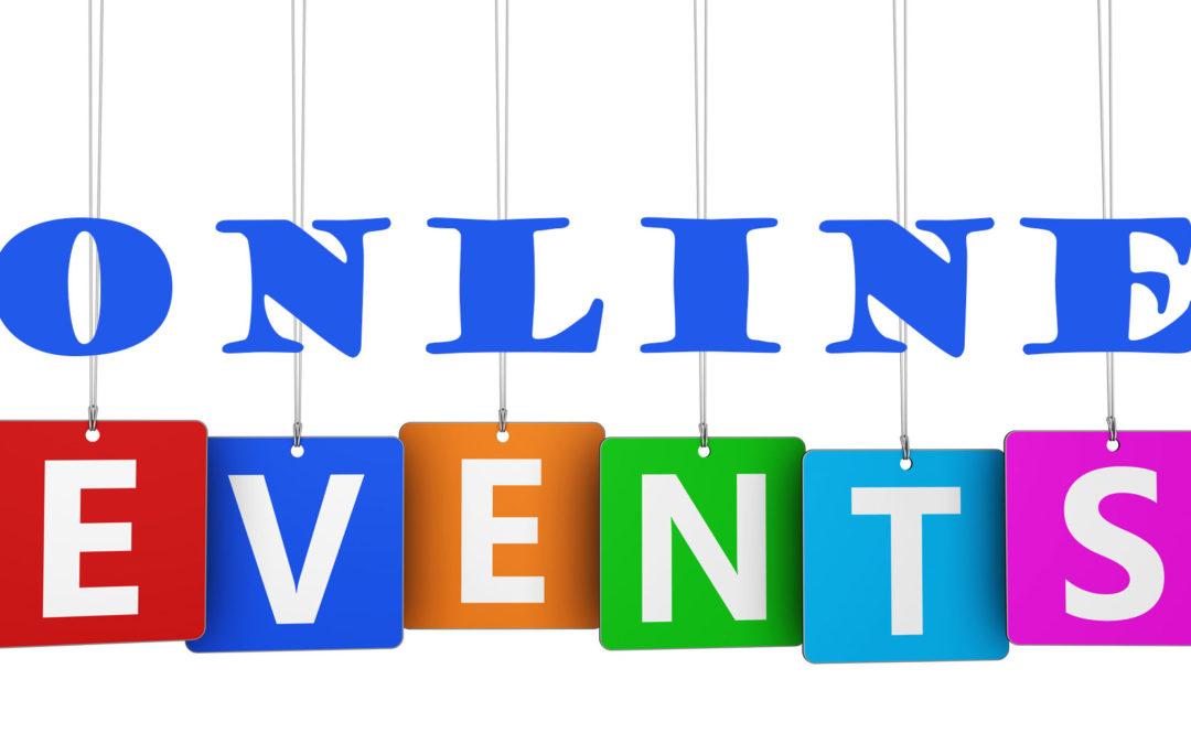 April 2020 Online Activities & Events