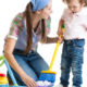 Chores Help Toddlers Develop Key Skills