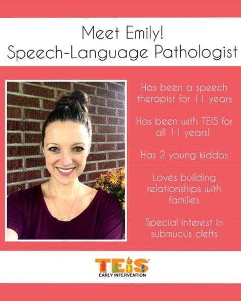 TEIS Inc, Early Intervention Speech Pathologist
