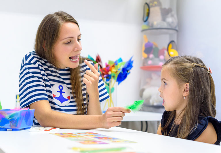 Speech Therapy and Autism